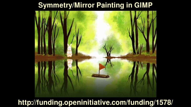 Click to help Funding the Symmetry Feature into GIMP!