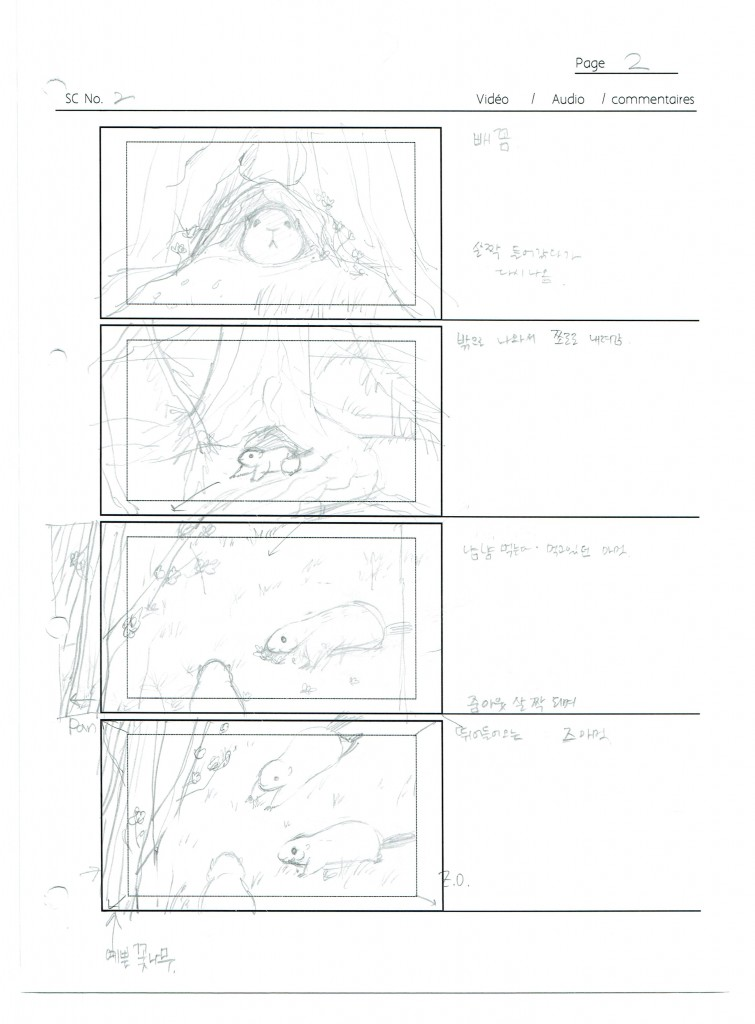 Storyboard - scene 2 page 2