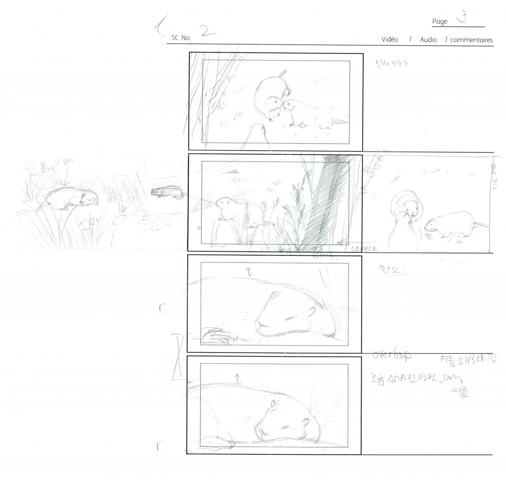 Storyboard - Scene 2, page 3