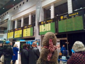 ZeMarmot reached Bacelona airport!