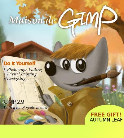 Image de démarrage de GIMP 2.9.6, par Aryeom